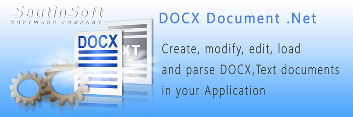 Get to know more about DOCX Document .Net