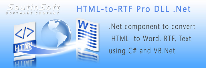 Click to get to know more about HTML-to-RTF Pro DLL .Net