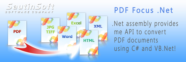 Click to get to know more about PDF Focus .Net