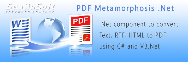 Click to get to know more about PDF Metamorphosis .Net