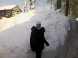 Winter 2011 in Russian backwoods