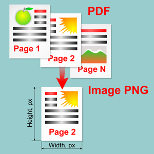 Convert a PDF document into thumbnail image with specified dimensions in C# and VB.Net