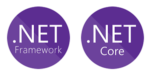 .NET Framework 2.0, 3.5, 4.0, 4.5 and higher .Net Core 2.0 and higher