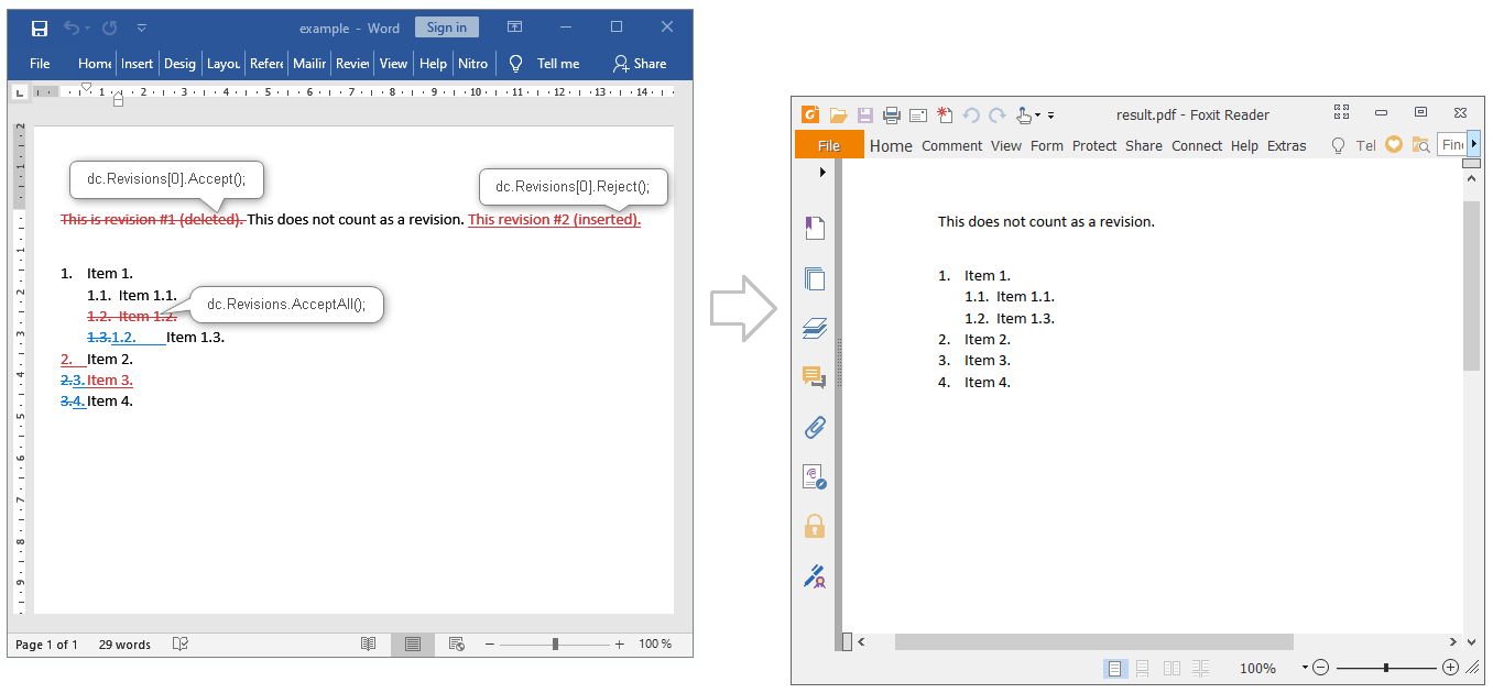 how to change from docx to pdf